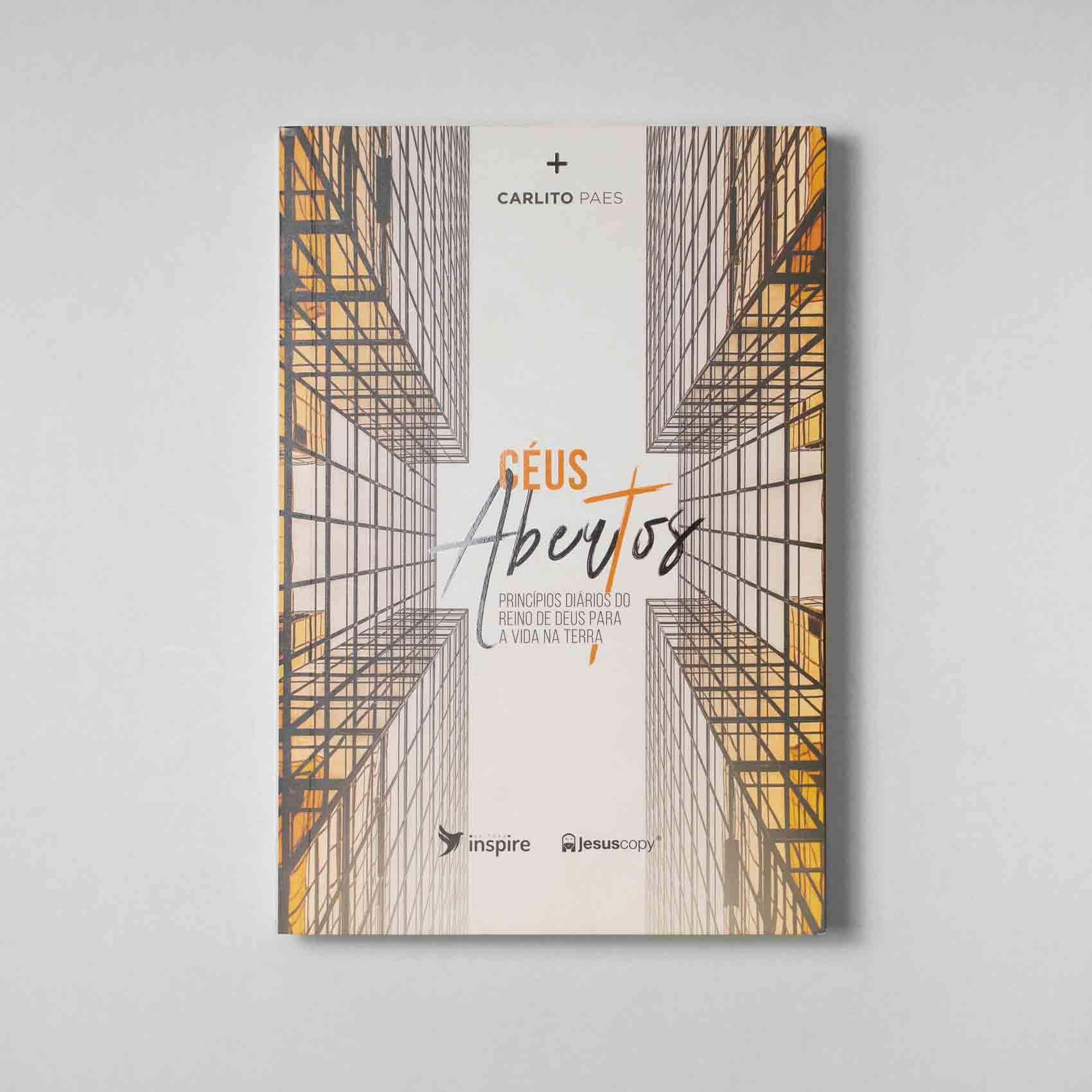 Livro  Céus abertos Carlito Paes