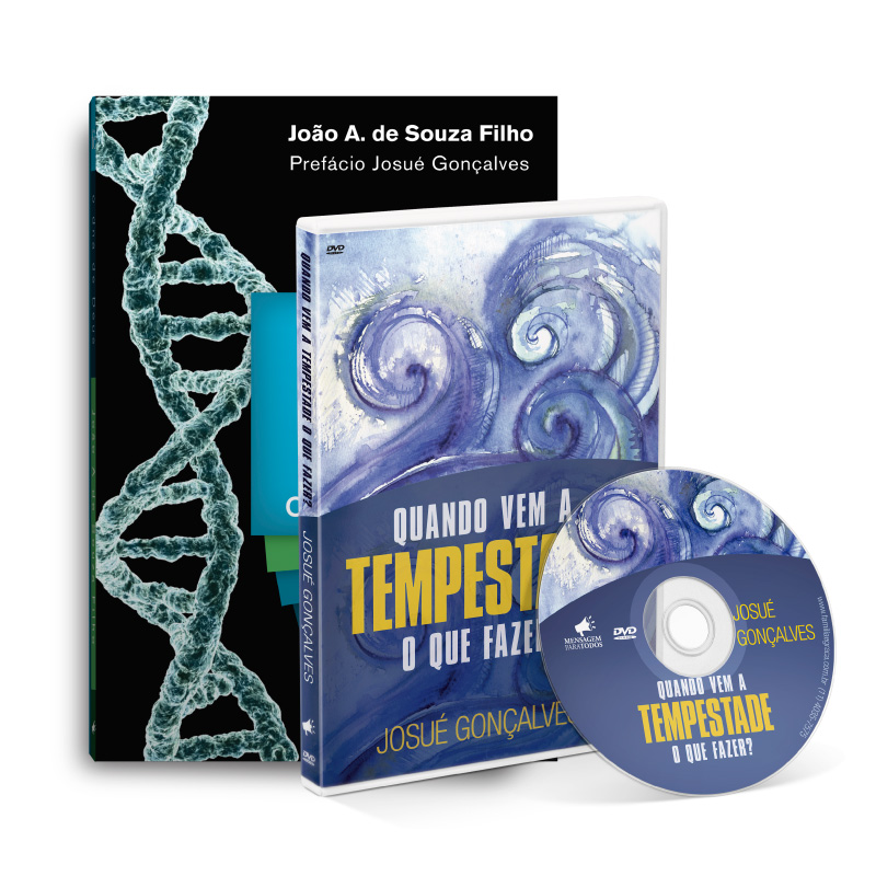 Livro + DVD ( Tempestade e Fé)