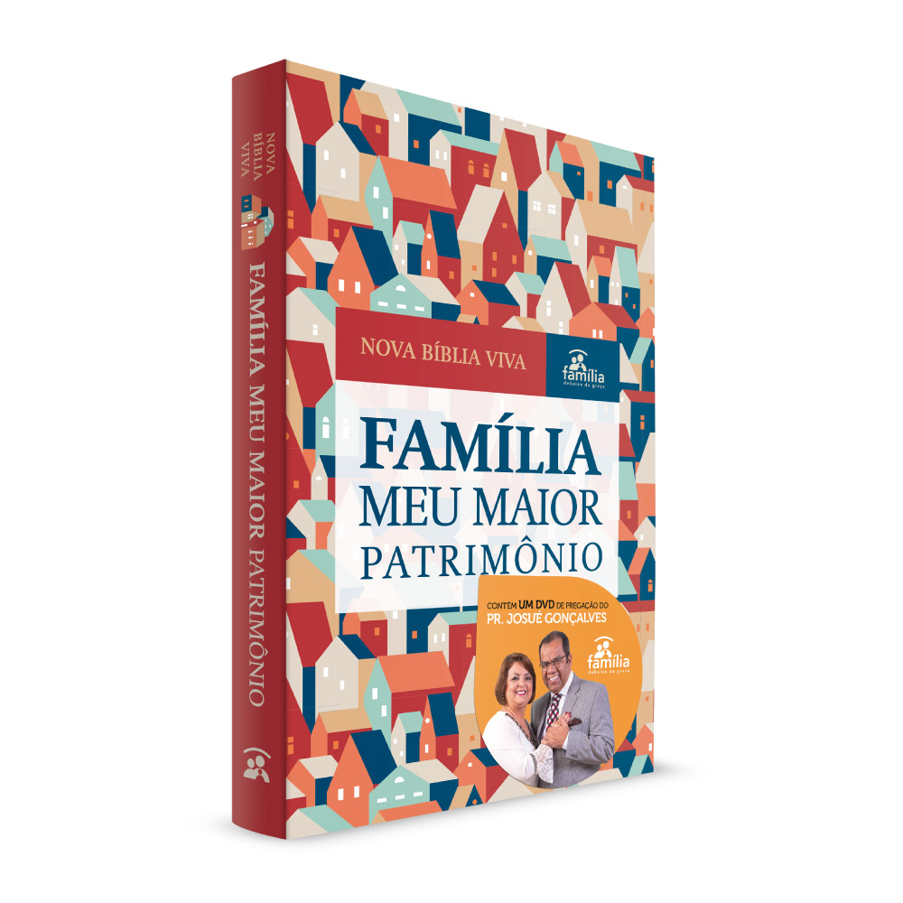 Nova Bíblia Viva - Família meu maior patrimônio + 01 DVD Brinde