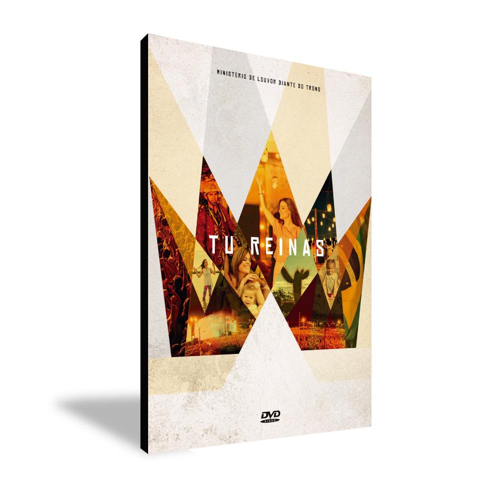 DVD - TU REINAS (Ministério de Louvor Diante do Trono)