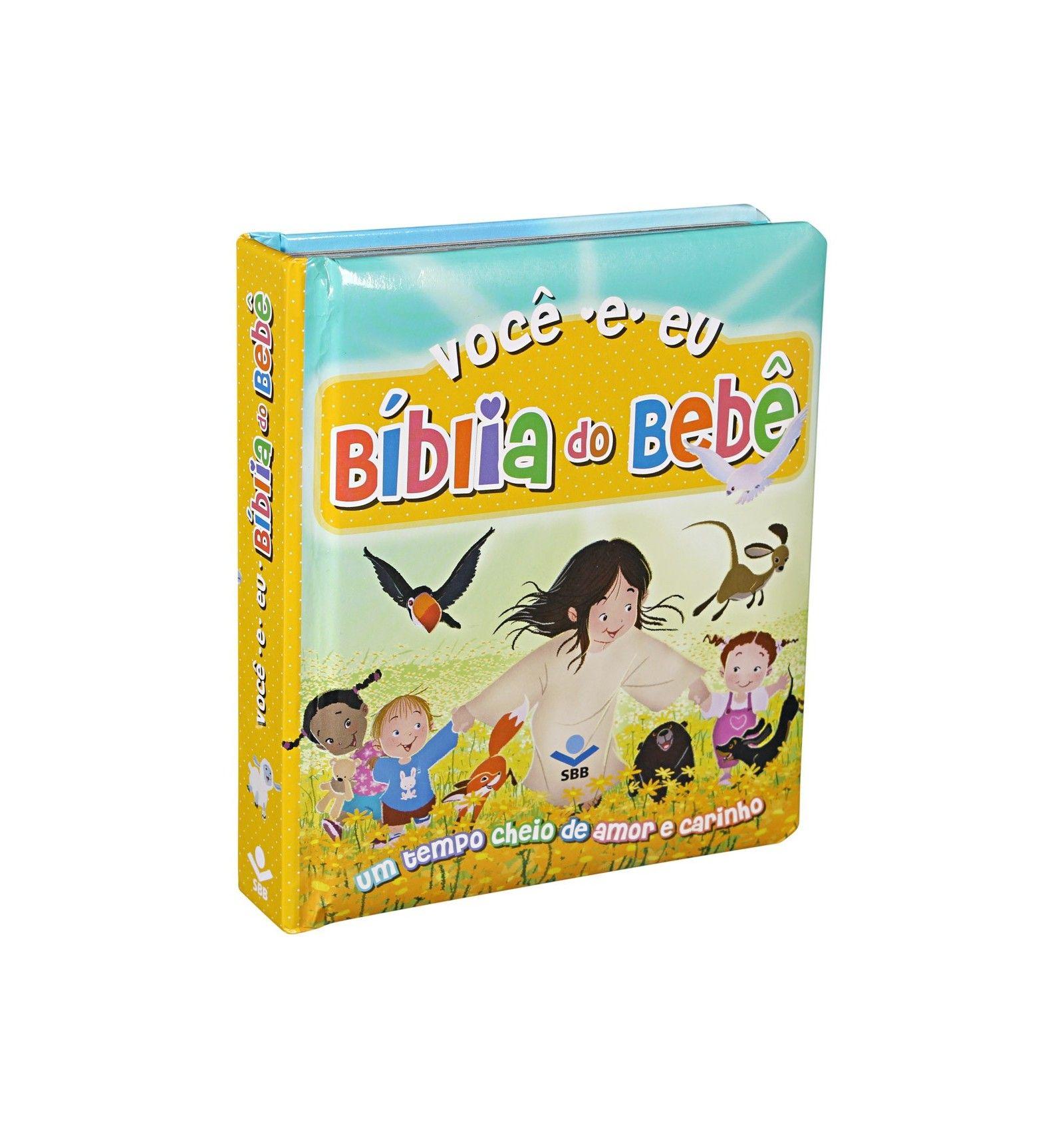 VOCÊ E EU  BÍBLIA DO BEBÊ CAPA DURA Almofada Ilustrada