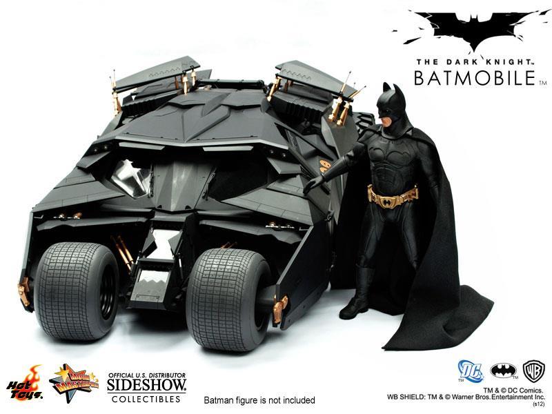 Batman The Dark Knight Batmobile Tumbler Escala 1/6 - Hot Toys