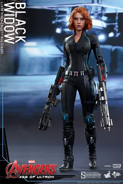 Black Widow Avengers 2 Age of Ultron Escala 1/6 - Hot Toys