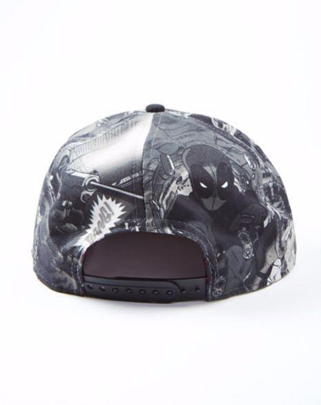 Bon� Snapback: Deadpool Mask Imagens PB
