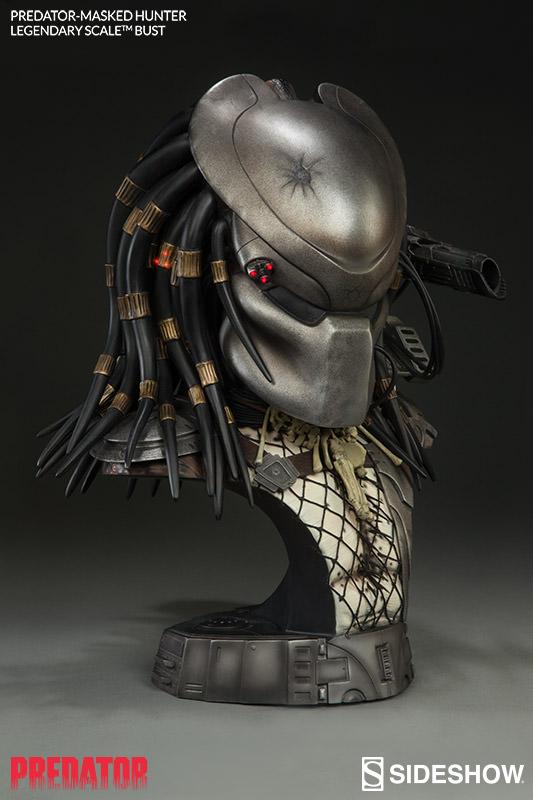 Busto Predador Masked Hunter Legendary Scale - Sideshow