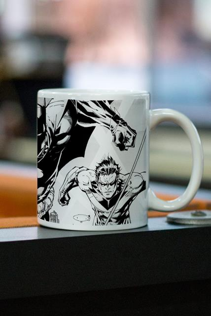 Caneca Tracing Batman e Robin - BandUP!