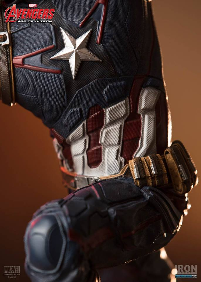 Capit�o Am�rica Age Of Ultron Diorama Escala 1/6 - Iron Studios