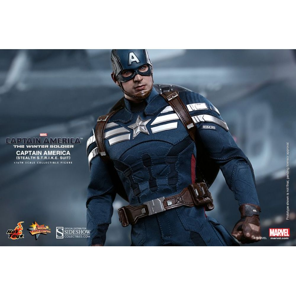 Captain America - Stealth S.T.R.I.K.E. Suit - The winter soldier - Hot Toys