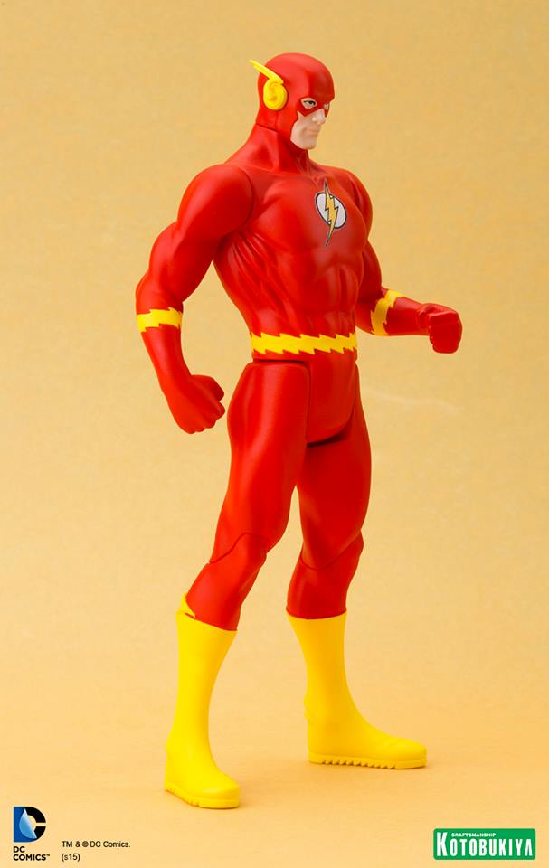 Classic Flash Super Powers ArtFX+Statue - Kotobukiya