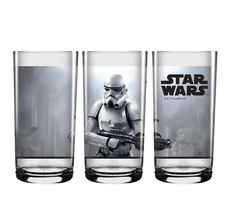 Conjunto Copo Long Drink Cenas Star Wars - NF