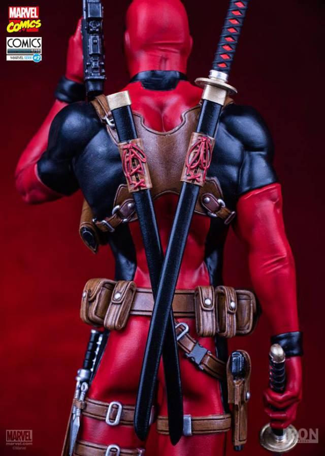Deadpool Marvel Comics Art Scale 1/10 - Iron Studios
