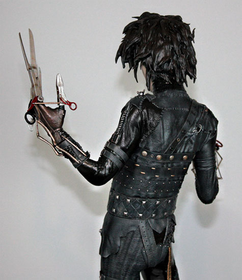 PRÉ VENDA : Edward Scissorhands Estátua Escala 1/4 Exclusiva - Hollywood Collectibles