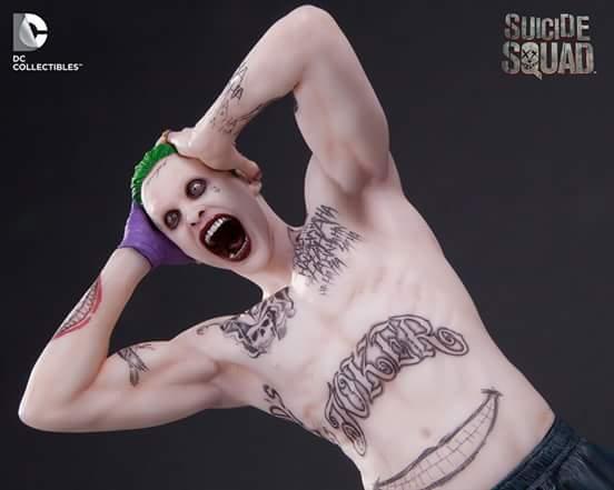 Esquadrão Suicida Joker Estátua - DC Collectibles