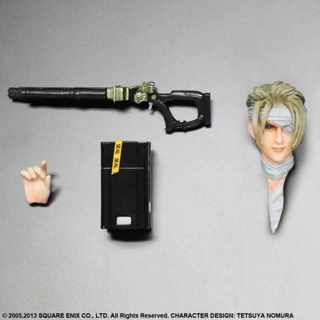Final Fantasy VII Rufus - Play Arts Kai