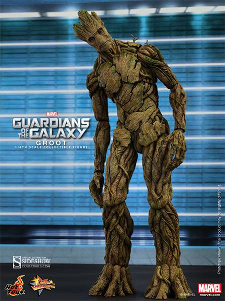 Guardians of The Galaxy: Groot Escala 1/6 - Hot  Toys