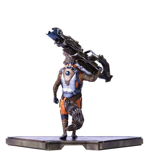 Guardiões da Galáxia: Rocket Raccoon Art Escala 1/10 - Iron Studios