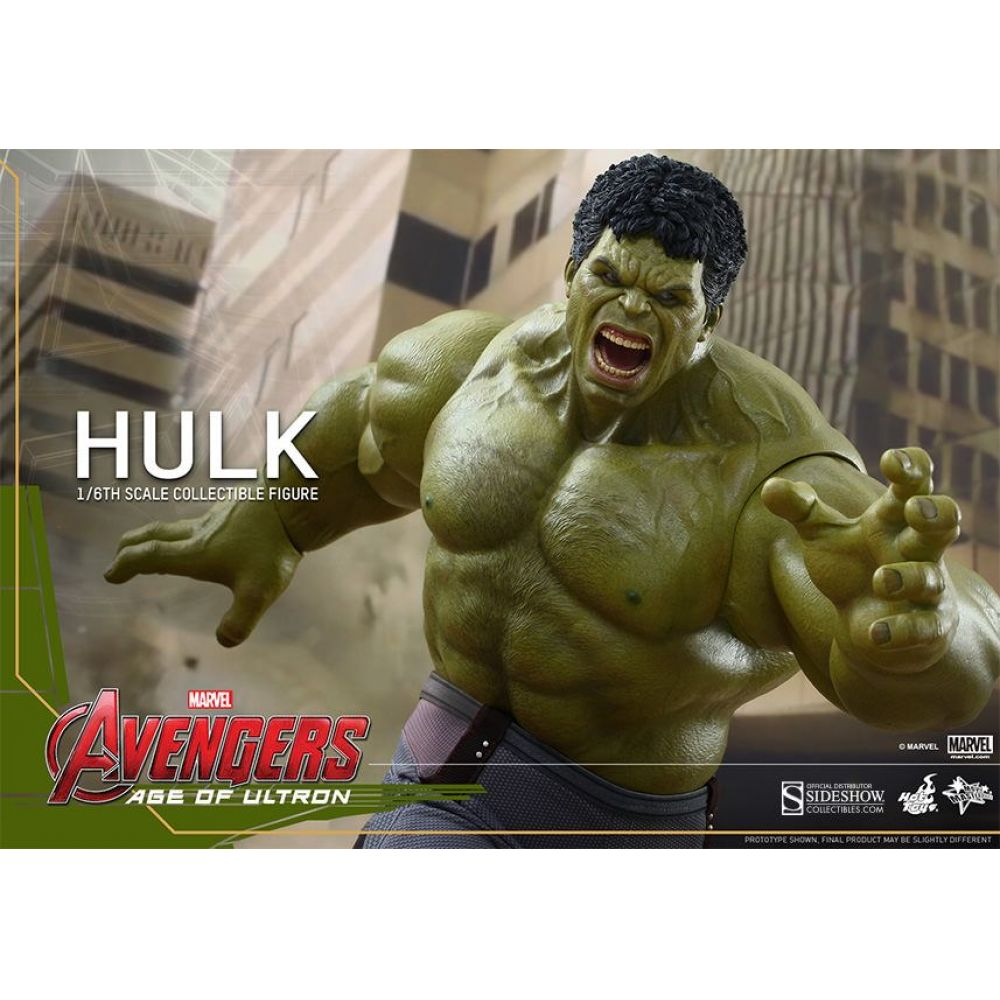 Hulk Avengers Age Of Ultron Escala 1/6 - Hot Toys