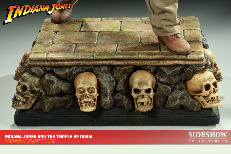 Indiana Jones The Temple of Doom Premium Format Escala 1/4 - Sideshow (Produto Exposto)