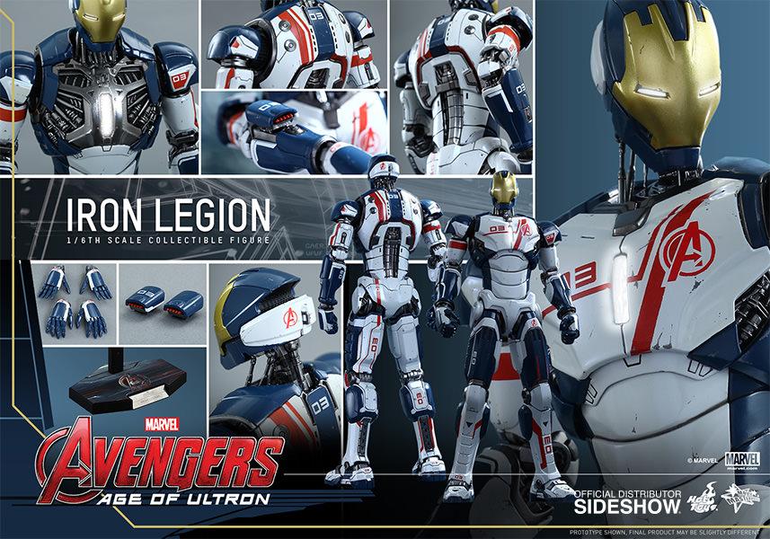 Iron Legion Age Of Ultron Escala 1/6 - Hot Toys