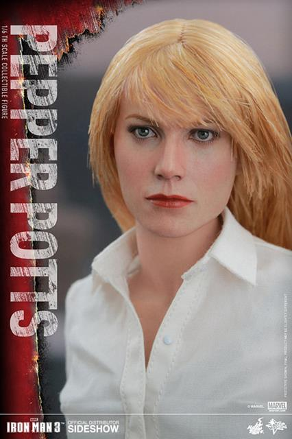 Iron Man 3 Pepper Potts Escala 1/6 - Hot Toys