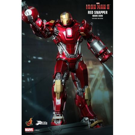 Iron Man 3 Red Snapper Mark XXXV Power Pose 1:6 - Hot Toys
