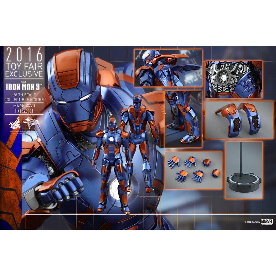 Iron Man Mark XXVII Disco Exclusivo Escala 1/6 - Hot Toys