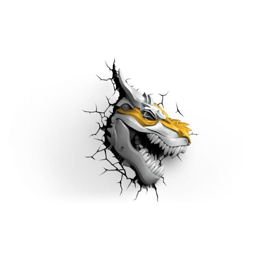 Luminária Grimlock - 3D Ligtht FX