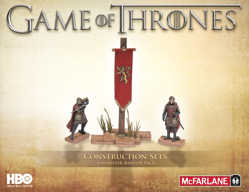 McFarlane Building Sets Game Of Thrones House Lannister - McFarlane
