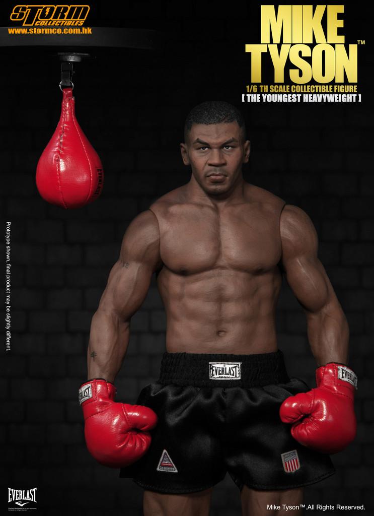 Mike Tyson SM-1501 Escala 1/6 - Storm Collectibles