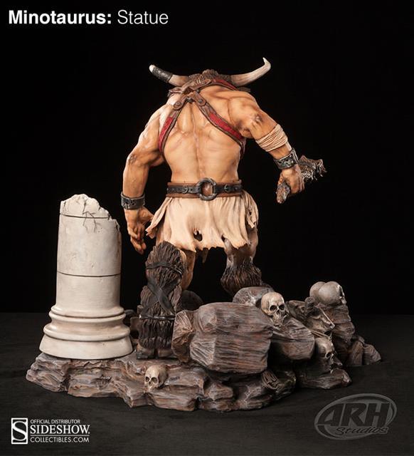 Minotaurus Statue - ARH Studios