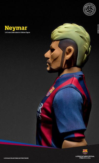 Neymar Jr. FCBarcelona Soccer Figure Art Edition 1:6 - ZC World