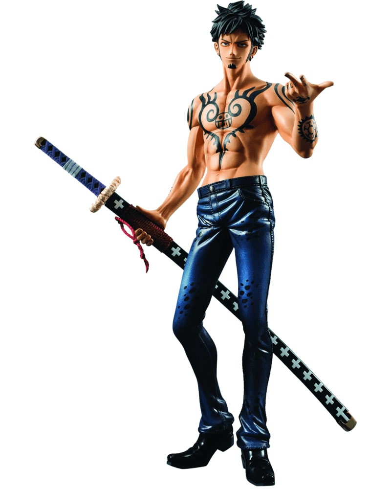 One Piece Trafalgar Law (Versão 2.5) Protrait of Pirates - MegaHouse
