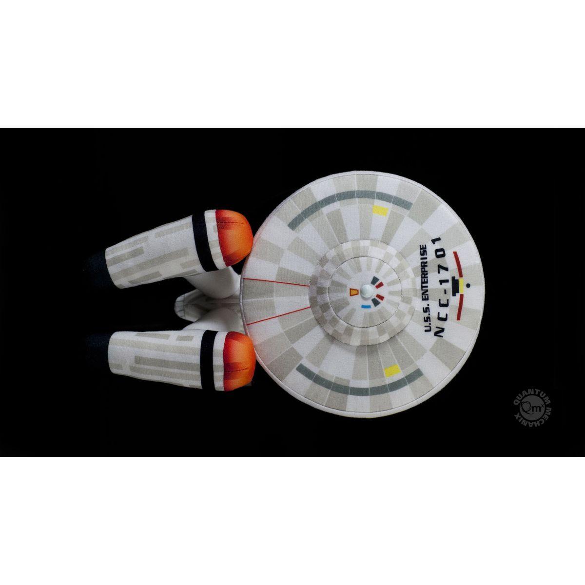 Pelúcia Star Trek U.S.S. Enterprise NCC 1701 - Quantum Mechanix