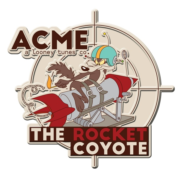 Placa de Alumínio Looney Tunes : The Rocket Coyote - Urban