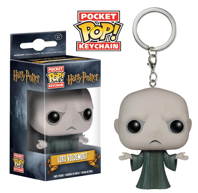 Pocket Pop! Keychains Harry Potter: Lord Voldemort - Funko