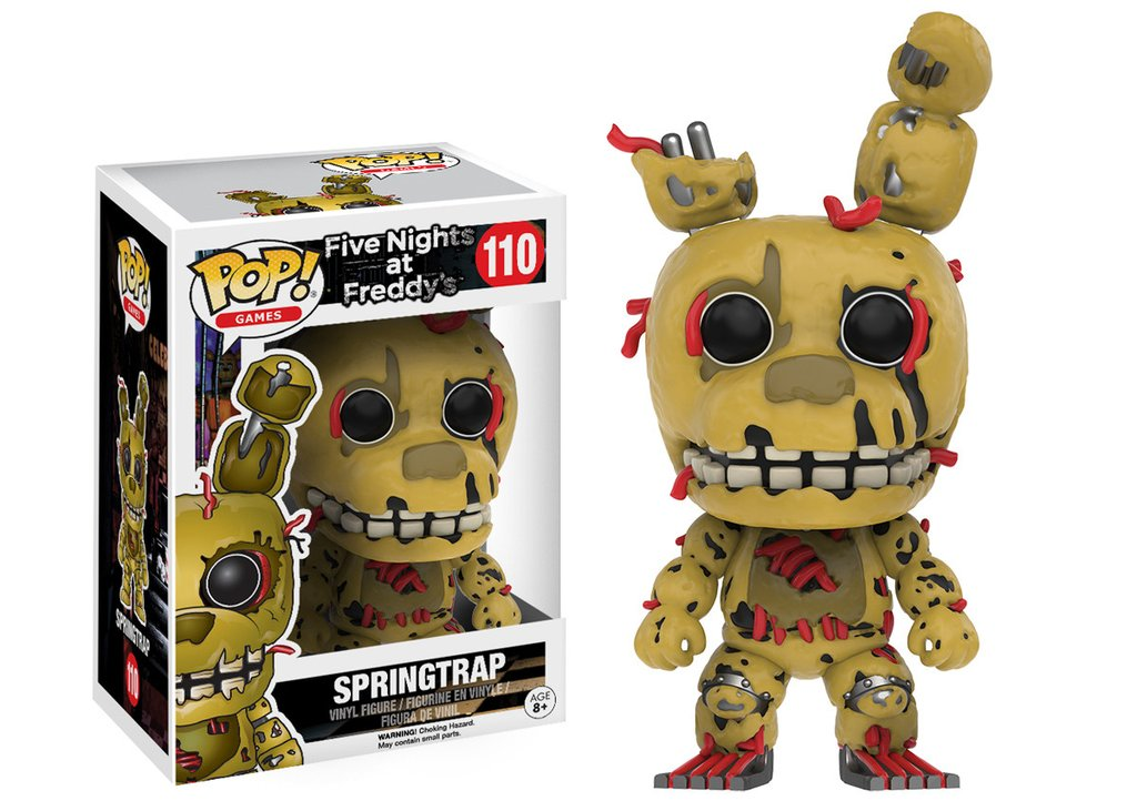 Pop! Five Nights At Freddy's : Springtrap - Funko