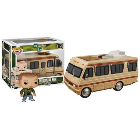 POP! Rides Breaking Bad The Crystal Ship - Funko