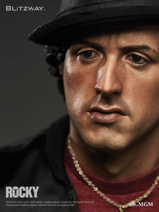 Rocky II 1979 Sylvester Stallone Estátua Escala 1/4 - Blitzway