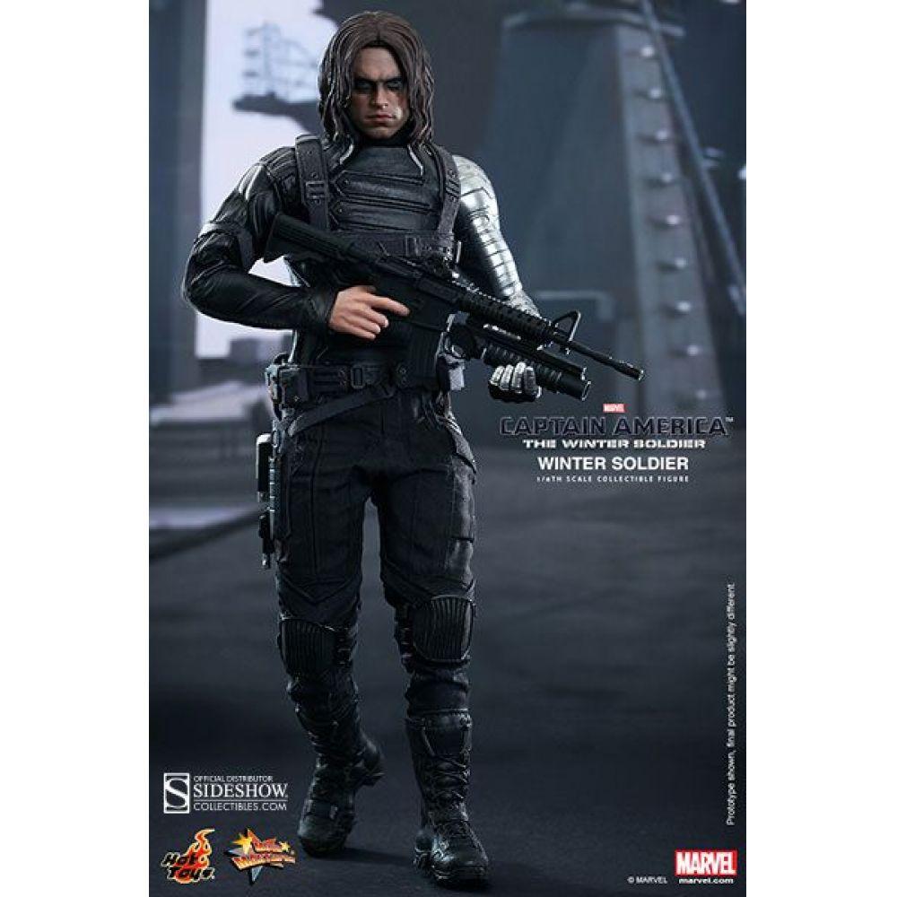 Soldado Invernal Captain America The Winter Soldier 1:6 - Hot Toys