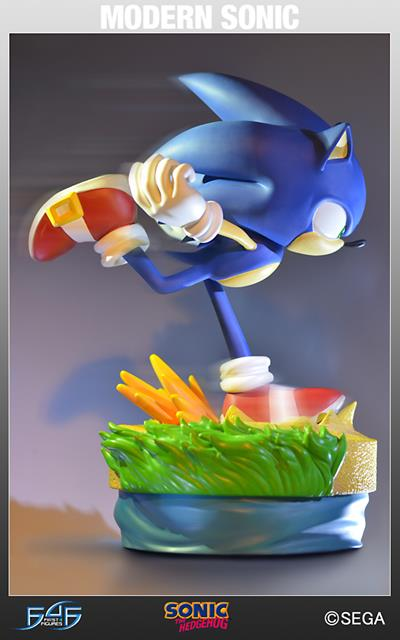 Sonic The Hedgehog: Modern Sonic  Est�tua - First4Figures