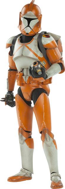 Star Wars Bomb Squad Clone Trooper Ordnance Specialist - Sideshow