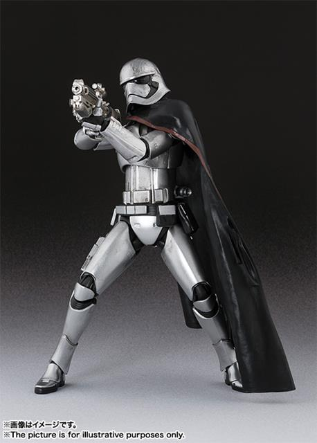 Star Wars Captain Phasma S.H. Figuarts - Bandai