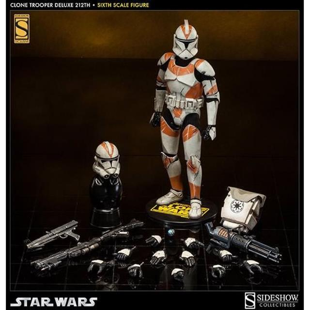 Star Wars Clone Trooper Deluxe 212th 1:6 - Sideshow