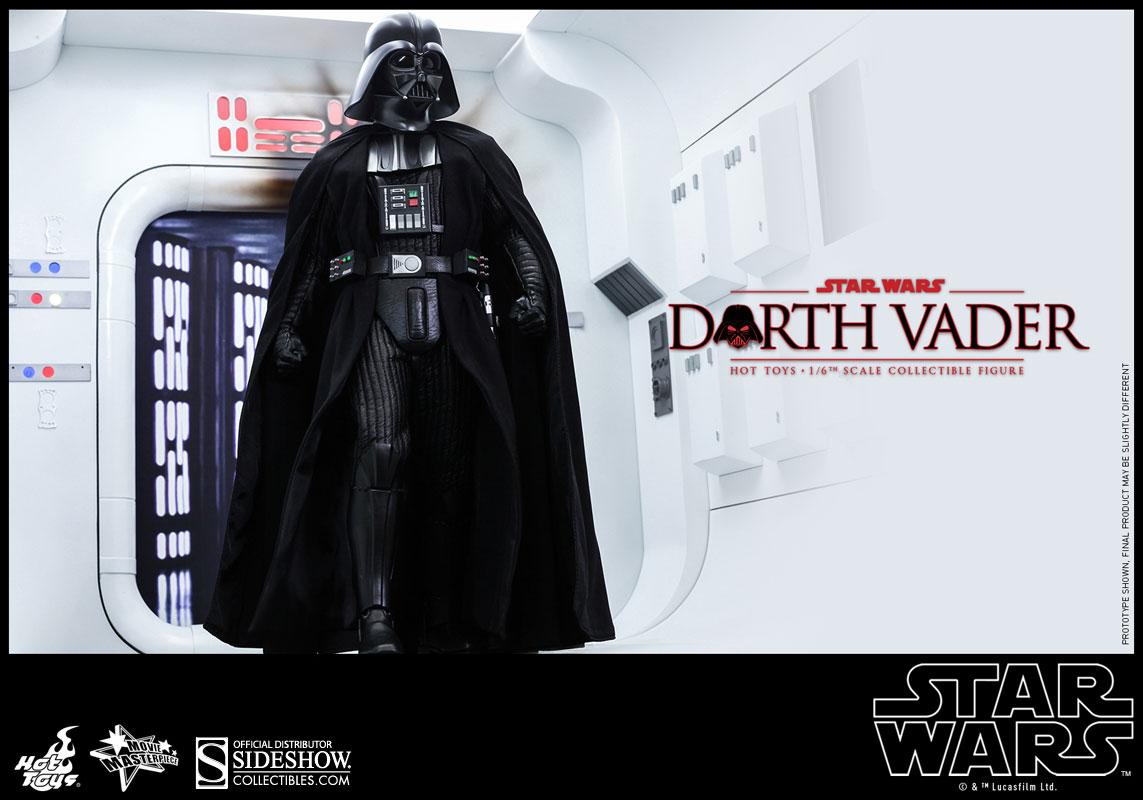Star Wars: Episode IV: A New Hope - Darth Vader Escala 1/6 - Hot Toys