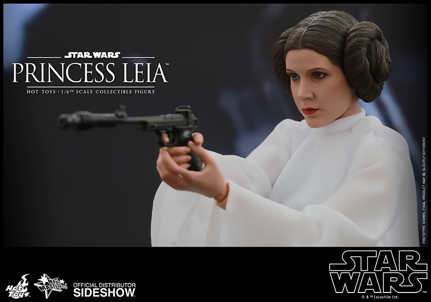 Star Wars Princess Leia Escala 1/6 - Hot Toys