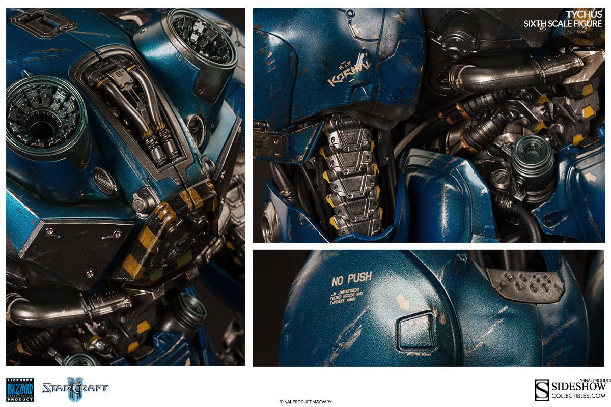 Starcraft II Tychus Findlay Escala 1/6 - Sideshow EPP