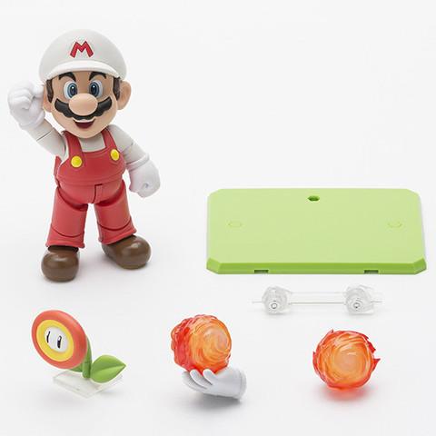 Super Mario Bros Fire Mario S.H Figuarts - Bandai
