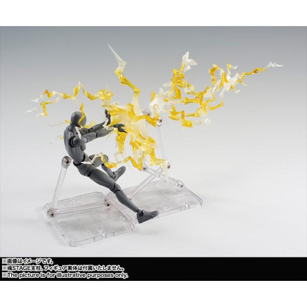 Tamashii Effect Thunder Yellow Display - Bandai