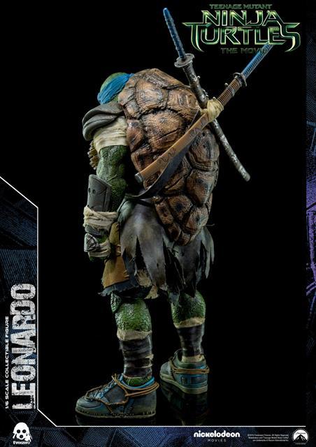 Tartarugas Ninjas: Leonardo Escala 1/6 - Threezero