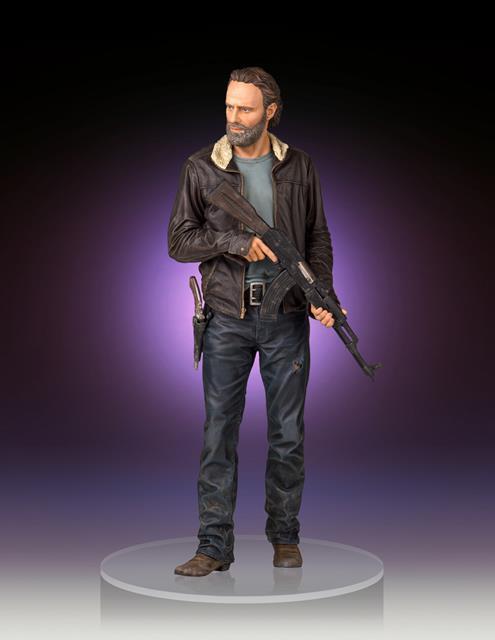 The Walking Dead Rick Grimes Est�tua 1/4 - Gentle Giant